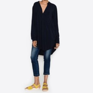 CP SHADES Black Light Weight Teton Tunic Shirt